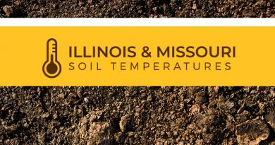 Illinois and Missouri Soil Temperatures