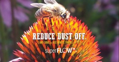 Reduce Dust Off with Superflow